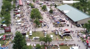 Shop Till You Drop At Antique World, One Of The Largest Flea Markets In New York