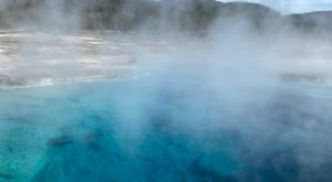 You'll Want To Spend The Entire Day At The Gorgeous Natural Pool In Wyoming's Yellowstone National Park