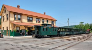 Take A Step Back In Time With An Unforgettable Train And Trolley Experience At East Broad Top Railroad In Pennsylvania