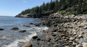 Taking A Short Hike To This Hidden Beach In Acadia National Park In Maine Is A Secret Adventure