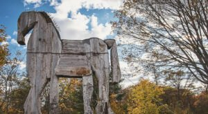 This Quarter-Mile Universally Accessible Trail In Maine Is Lined With Sculptures