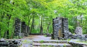 A Mysterious Woodland Trail In New Hampshire Will Take You To The Original Madame Sherri Ruins