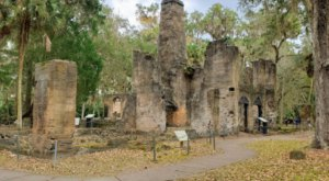 A Mysterious Woodland Trail In Florida Will Take You To The Original Bulow Plantation Ruins