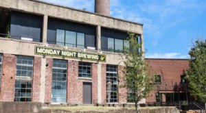 Grab A Cold Drink In An Abandoned Factory At Monday Night Brewing In Tennessee