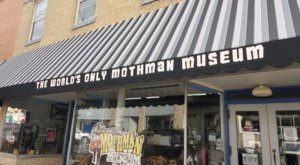 Mothman Museum In West Virginia Just Might Be The Strangest Tourist Trap Yet