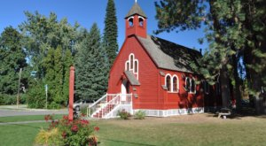 Seek Out This Historic Church Hiding In North Idaho For A Magical Little Outing