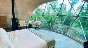 Wake Up To A Gorgeous Lake Superior View With A Stay At This Unique Dome Airbnb In Minnesota