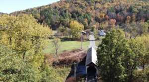 Here Are 7 Of The Most Beautiful Massachusetts Covered Bridges To Explore This Fall