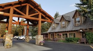 Wyoming's Hatchet Grill Is A Log Cabin Restaurant That's The Best Kept Secret In The Tetons