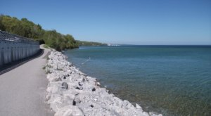 Little Traverse Wheelway In Michigan Is A Bayfront Trail With 26 Miles Of Scenery