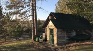 An Overnight Stay At This Secluded Cabin In Michigan Costs Less Than $100 A Night And Will Take You Back In Time