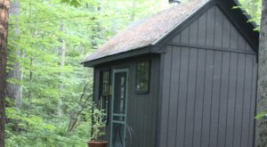An Overnight Stay At This Secluded Cabin In Massachusetts Costs Less Than $100 A Night And Will Take You Back In Time