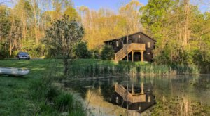 Relax By Your Own Private Pond In This Chic And Stylish New Jersey Cottage