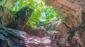 The One-Of-A-Kind Trail In New Jersey With A Bridge And 2 Caves Is Quite The Hike