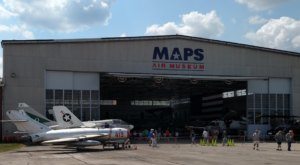 MAPS Air Museum Is A Day Trip Away From Cleveland, But It's So Worth The Journey