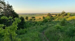 A Mysterious Woodland Trail In Kansas Will Take You To The Original Coronado Heights Ruins