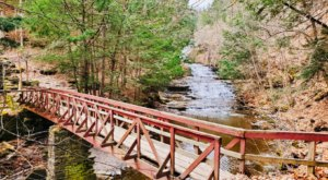 Hike Miles Of Beautiful Trails And Check Out A Gorgeous Waterfall At This Preserve In New York