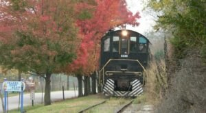 The Fall Foliage Flyer Train Ride In Indiana Is Scenic And Fun For The Whole Family