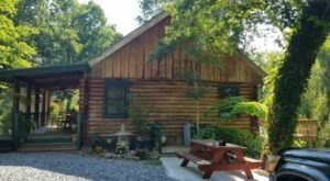 An Overnight Stay At This Secluded Cabin In Tennessee Costs Less Than $100 A Night And Will Take You Back In Time