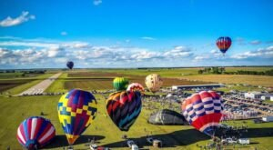 Hot Air Balloons Will Be Soaring At Kansas's 22nd Annual Sunflower Balloon Fest