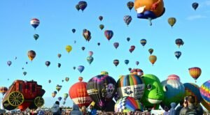 Don't Miss The Biggest Hot Air Balloon Festival In New Mexico This Year, Albuquerque International Balloon Fiesta