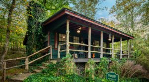 Book A Stay At One Of These Two Cozy Cabins That Are Nestled In An Alabama Canyon