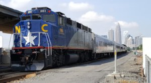Ride The Amtrak Through North Carolina's Plateau, The Piedmont, For Just $17