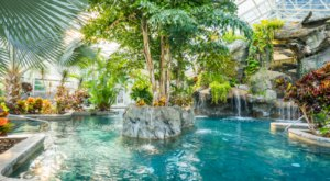 Cool Off Under A Waterfall At This New Jersey Hotel