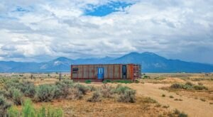 Spend The Night In A Shipping Container That Is Now An Airbnb In New Mexico