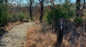 Lake Trail In Oklahoma Leads To A Bluff With Unparalleled Views