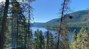 The Tally Lake Overlook Trail In Montana Takes You From The Woods To The Lake And Back