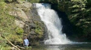 Escape To Secret Falls For A Beautiful North Carolina Nature Scene
