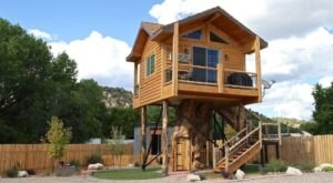 The Treehouse At The Escape In Utah Is The Treehouse Getaway Adults Will Love