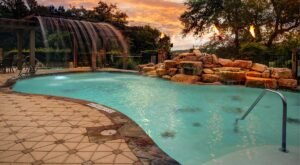 Cool Off Under A Waterfall At This Texas Hotel