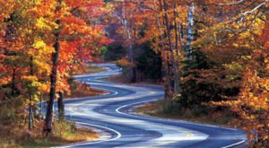 The Most Beautiful Fall Drive In Wisconsin Just Might Make You Dizzy