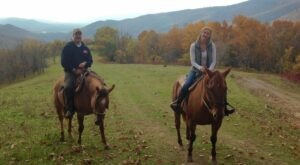 Take A Fall Foliage Trail Ride On Horseback At Mountaintop Ranch In Virginia