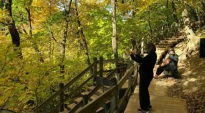 This Mile Long Trail In Iowa Leads To A Waterfall, Three Overlooks, And An Effigy Mound
