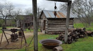 Travel Back To The 1800s At Texas' Pioneer Village Living History Center