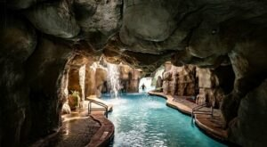 Cool Off Under A Waterfall At This Florida Hotel