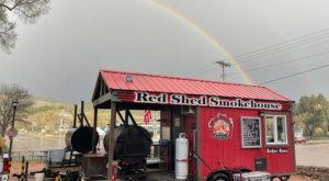 There Is No Better BBQ And Mac And Cheese In The World Than The Red Shed Smokehouse In South Dakota