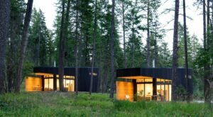 Sleep Near The Shores Of Flathead Lake In These Tiny Luxury Cabins In Montana