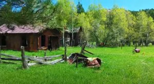 The South Dakota Ghost Town That's Perfect For An Autumn Day Trip