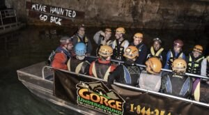 Take A Haunted, Underground Boat Tour In Kentucky For A Spooky Adventure