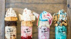 The Mountainous Milkshakes At The Yard Milkshake Bar In Arizona Are Always Worth The Wait In Line