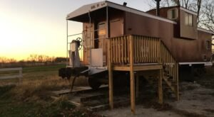 Stay The Night In A Old-Fashioned Train Caboose In Decorah, Iowa