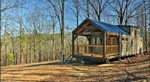 This Secluded Cabin Near Lake Greeson In Arkansas Lets You Glamp In Style