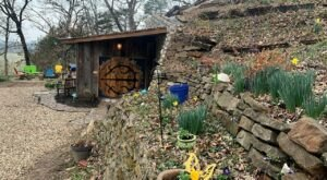 An Underground Vacation Rental, The Hobbit House In Arkansas Is Like Something From A Dream