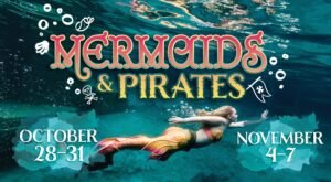 Discover The Magical World Below The Ocean's Surface At Mermaids And Pirates In Mississippi