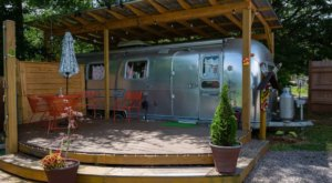 Spend The Night In An Authentic 1970s Airstream In The Foothills Of The Blue Ridge Mountains In South Carolina