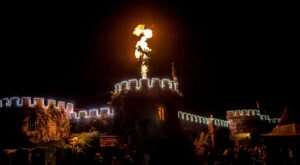 The Halloween Festival At The Castle of Muskogee In Oklahoma Offers Fun For Halloween Lovers Of All Ages